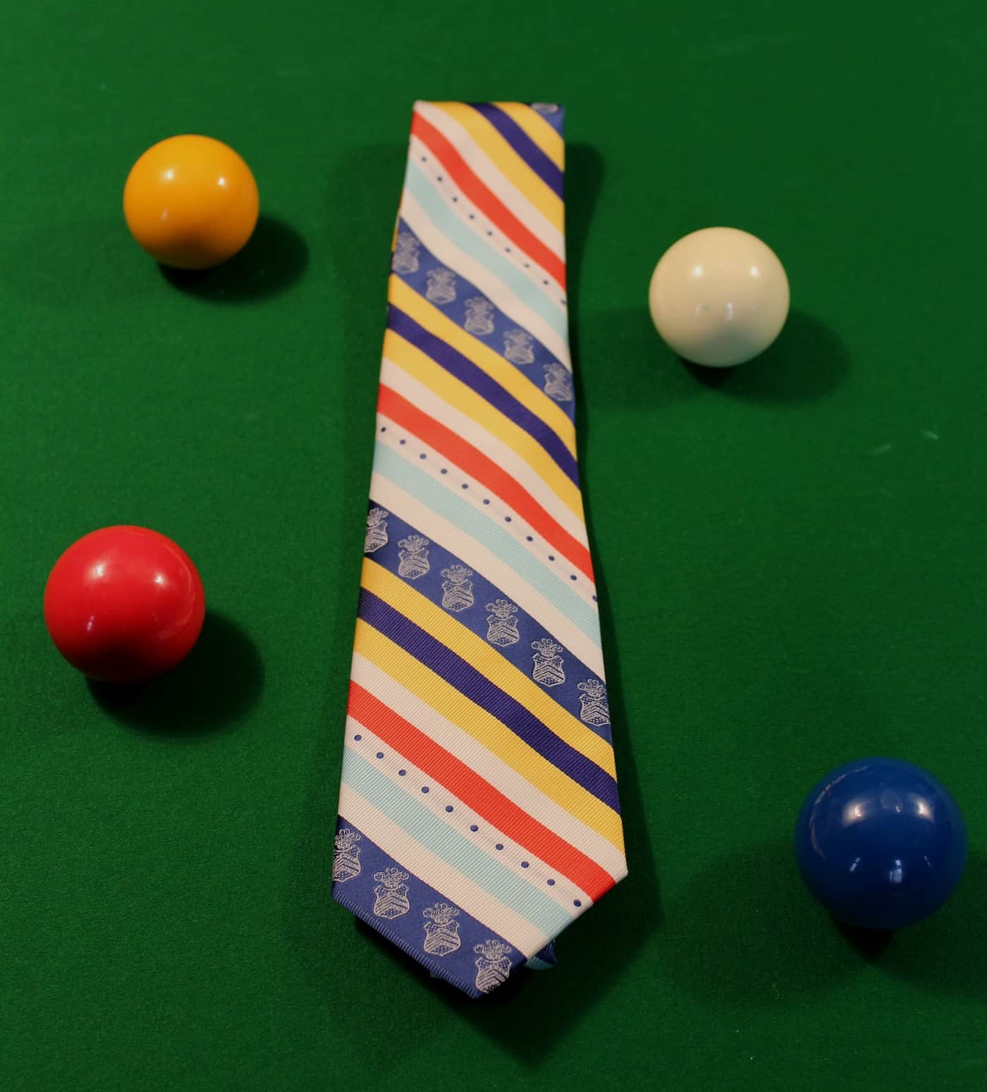 4 Clubs Tie - £27.50